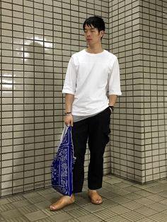 Y's Wardrobe: 【ambiente chamula used】5分丈のベースボールTシャツ、ええ感じです!