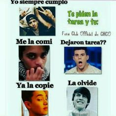 Read Memes parte from the story CNCO fotos💞 by LucaPatrn (❤Cncowner❤Criaturita ❤) with 121 reads. I Love Him, Love You, My Love, Memes Cnco, Cnco Richard, Can't Stop Laughing, Amazing Pics, Funny Moments, Reggae
