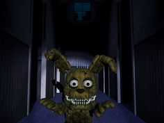 To me, little mister plushtrap here can somehow be a combination of extremely cute but extremely creepy. Have you seen how his mouth opens and he drools over like a demented doll? 0~0