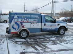 Ottawa Truck Wrap - Clement Marchand