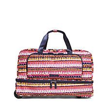 Lighten Up Wheeled Carry On Luggage in Rio Squiggle | Vera Bradley