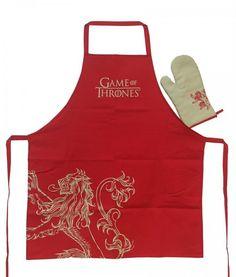 Set tablier Gant de cuisine Game of Thrones Lannister