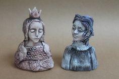 Figures - Helen Perrett Handbuilt Ceramics