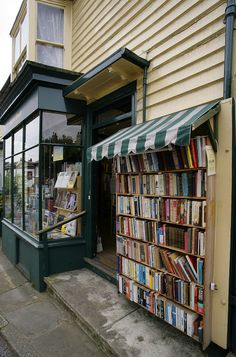 Awesome Indoor/Outdoor Book Shop - Farningham, Kent, England