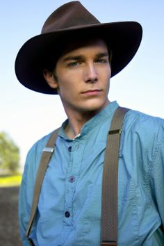 Logan Bartholomew... a real life cowboy! ....at least in the Love Comes Softly series...