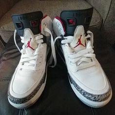 pretty nice f0419 cf453 Jordan Shoes   Jordan Spizike Bg, Size 5y   Color  Gray White   Size  5b