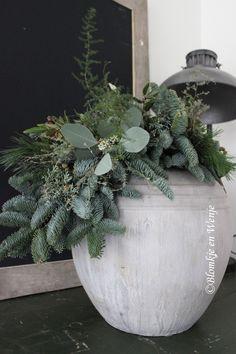 toef festoen stoer sober landelijk groendecoraties Blomkje en Wenje