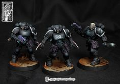 The Internet's largest gallery of painted miniatures, with a large repository of how-to articles on miniature painting Salamanders 40k, Bolter And Chainsword, Miniaturas Warhammer 40k, Warhammer Models, Warhammer Fantasy, Grey Knights, Deathwatch, Tabletop, Dragon Pictures