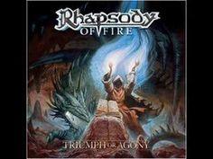 """Rhapsody of Fire """"Il canto del vento"""" - power metal in italian - stupendo cosa puo fare con il mio cuore"""