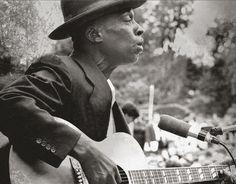Skip James Performing At Newport RI., 1965.