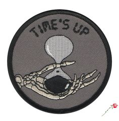 Image of Times Up Patch