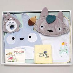 MY NEIGHBOR TOTORO BABY BIRTH GIFT B set ☆STUDIO GHIBLI