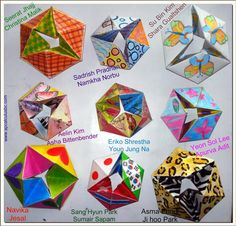 Flexagon Craft Project | Toys, Origami paper and Patterns