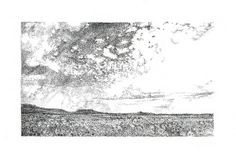 Tankwa Landscape III, ink on paper, Annie le Roux - www.annieleroux.co.za Annie, Tapestry, Ink, Landscape, Abstract, Paper, Artwork, Home Decor, Hanging Tapestry