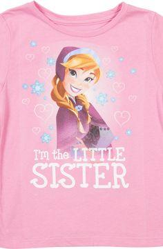 Little Sister Anna Frozen Shirt