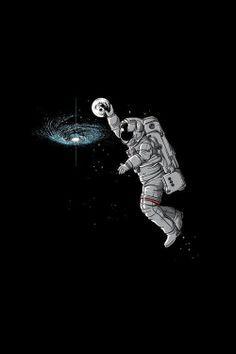 astronaut illustration wallpaper - Pesquisa Google