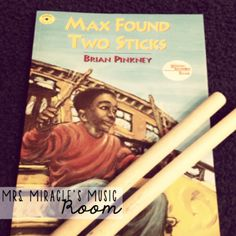 Mrs. Miracle's Music Room: Worked for me Wednesday | Max Found Two Sticks rhythm activity for Kinder
