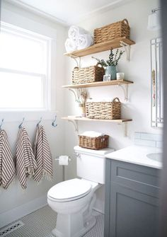 16 beautiful farmhouse bathroom remodel decor ideas
