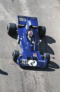 1973 Francois Cevert. Tyrrell 006 Ford Cosworth DFV V8