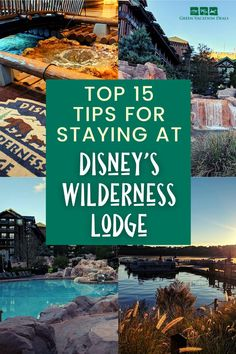 Are you planning a stay at Wilderness Lodge Resort in Disney World? Our family loves this hotel so much! And there are certain things we do to make sure our vacation at Disney's Wilderness Lodge is the best possible. We've put together the best 15 tips for staying at Wilderness Lodge. This includes how to book your hotel room to save a lot of money, where to eat, things to see and do at the resort & more. Walt Disney World Vacations, Disney Resorts, Vacation Deals, Dream Vacations, Disney World With Toddlers, Disney World Planning, Disney World Tips And Tricks, Wilderness, Dream Wedding