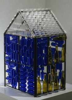 Mildred Howard... glass house...