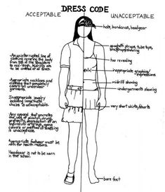 39 Best Dress Code Good And Bad Images Dress Codes School