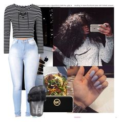 """7.20.13"" by heavensincere ❤ liked on Polyvore featuring Oris, Topshop, Michael Kors and Puma"