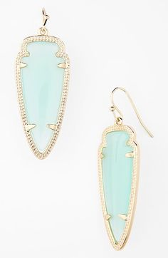 Free shipping and returns on Kendra Scott 'Sky Spear' Small Statement Earrings at Nordstrom.com. Svelte arrowheads rest in the etched gold frames of spirited French-wire earrings.