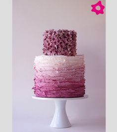 Tarta de boda de diseño #tartas #bodas