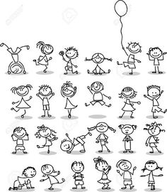 Cute happy cartoon kids is part of Doodles - Illustration of Cute happy cartoon kids vector art, clipart and stock vectors Image 14501423 Doodle Drawings, Easy Drawings, Doodle Art, Doodle Kids, Doodle People, Amazing Drawings, Happy Cartoon, Cartoon Kids, Free Cartoon Images