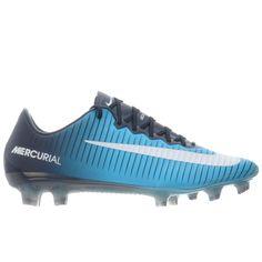 pick up 14231 52464 Sale Nike Mercurial Vapor XI FG Men s Soccer Cleats-Obsidian-White-Gamma  Blue-Glacier Blue