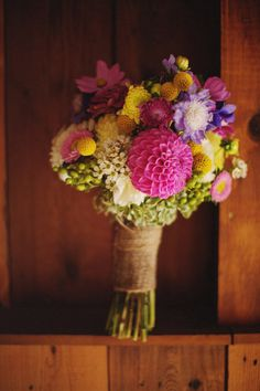 Beautiful and bright  bouquet