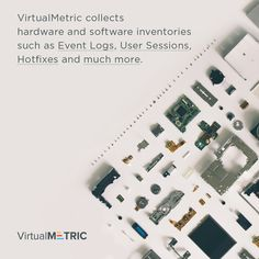 VirtualMetric collects hardware and software inventories such as Event Logs, User Sessions, Hotfixes and much more. Free trial: http://virtualmetric.com/try  #VirtualMetric #ReportingSolution #Vmware #HyperV #IIS #SQL #HyperVReporting