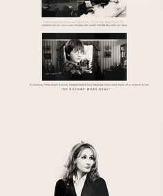 Thank you J.K. Rowling because you made him real to all of us<3