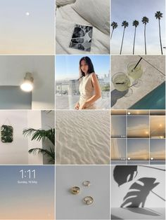 Aesthetic Collage, White Aesthetic, Chill Mood, Instagram Feed Ideas Posts, Feed Goals, Vsco Filter, Instagram Fashion, Sky, Inspiration