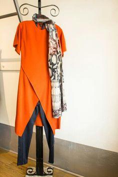 43560d56602c Bitte Kai Rand orange dress. www.camilledepedrini.com