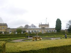 Blenheim Palace, April.