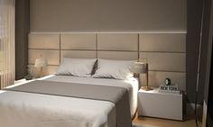 Em nossos dias é cada vez mais comum as cabeceiras de camas estofadas participarem na decoração do quarto, seja nos quartos de casais, solteiros ou de cria