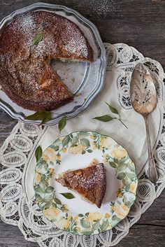Apple, Lemon Cake with Hazelnuts. Recipe is here:http://www.melangery.com/2013/08/apple-lemon-cake-with-hazelnuts.html #cake, #dessert, #apples, #lemons, #sweet, #hazelnuts
