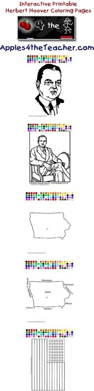 find this pin and more on presidents day fun president herbert hoover coloring pages