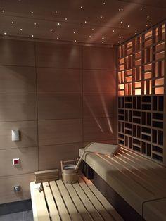 Building A Sauna, Sauna Steam Room, Saunas, Wellness Spa, Beauty Spa, House Ideas, Shower, Business, Interior