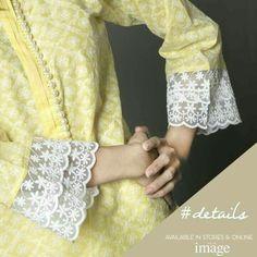 Kurti Sleeves Design, Sleeves Designs For Dresses, Neck Designs For Suits, Kurta Neck Design, Dress Neck Designs, Sleeve Designs, Pakistani Fashion Casual, Pakistani Formal Dresses, Pakistani Dress Design