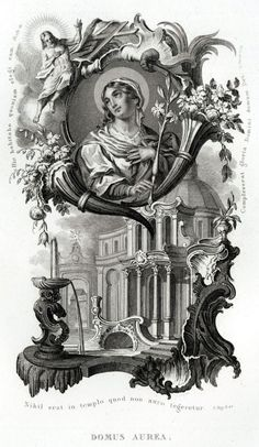40 Litanie Lauretane Domus Aurea SS Vergine Maria Madonna Religione Acciaio 1850 | eBay
