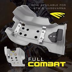 NEW FULL COMBAT & FULL ARMOR Skid Plates | Now Available for KTM and Husqvarna! Features ultra secure dual bracket system Extended full coverage design Form fitted to frame and cases High impact & Shock Resistant #cycra #madeintheusa #offroad #dirtbikes #enduro #gncc #mx #motocross #sx #supercross