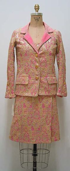 Cocktail Ensemble House of Chanel ca. 1964