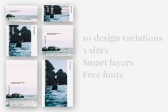 KONA Blog & Social Pack by Graphica Studio on @creativemarket
