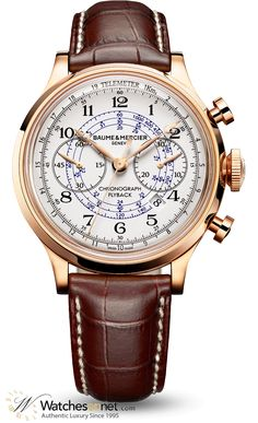 7ca5df0b30e Baume   Mercier Capeland Flyback Chronograph Men s Watch