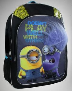 Despicable Me 2 Minions Play Backpack