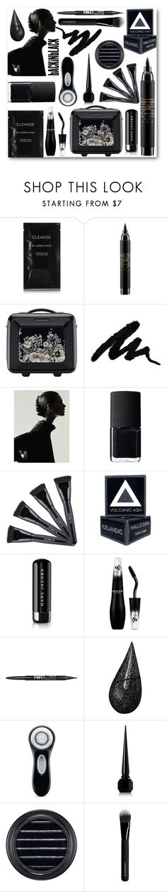 """""""bACKiNbLACK"""" by looking-for-a-place-to-happen on Polyvore featuring beauty, Cleanse by Lauren Napier, MAC Cosmetics, Ted Baker, NARS Cosmetics, Marc Jacobs, Lancôme, Charlotte Russe, La Prairie and Clarisonic"""
