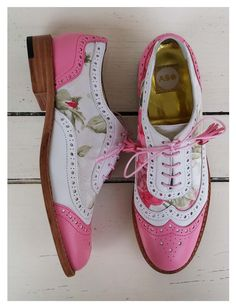 ABO floral brogues #abo#aboshoes#brogues#spring#floral